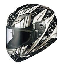 OGK KABUTO AEROBLADE3 ROVENTE WHITE SILVER S Small  Helmet Japanese Model