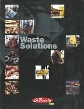 Equipment Brochure - LaBounty - Waste Garbage Handling - c1996 (E4850)