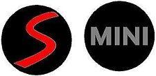 4x MINI WHEEL STICKERS DECALS FREE POSTAGE 50mm mini cooper bmw mini