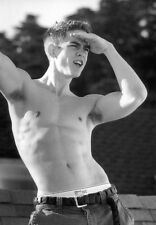 Shirtless Male Muscle Jock Arm Pit Hair B&W 2xist Sexy PHOTO 4X6 Pinup P990*****
