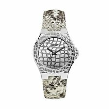 ..GUESS..U0227L1 SILVER-TONE EXOTIC SPORT WATCH-SIMPLY STUNNING!