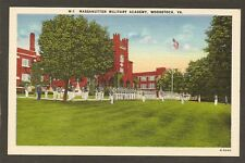 POSTCARD....Massanutten Military Academy,  Woodstock, Virginia  -  Unused, 1940s