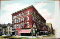 1909 Postcard: Chrystal Hotel - Johnstown, Pennsylvania PA