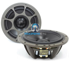 "MOREL HYBRID MW6 6.5"" CAR AUDIO 4 OHM 140 RMS MID SPEAKERS WOOFERS NEW"