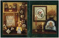 HOME AGAIN CHRISTMAS   - STONEY CREEK CROSS STITCH BOOK