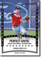 JOHN AIELLO Toronto Blue Jays 2014 Leaf *PERFECT GAME*  Baseball RC