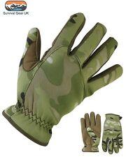BTP/mtp camuflaje estilo ejército Neopreno & Gamuza Delta rápido Guantes Airsoft