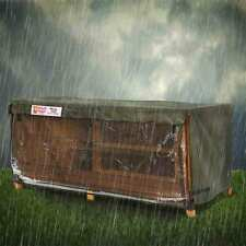 6ft Single Rabbit Hutch Hugger / 6ft Kendal Rain Cover Scratch and Newton