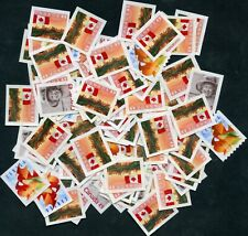 Weeda Canada Uncancelled postage, 100 x 49c off paper Face Value $49 FV