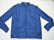 MSRP 295 NWT Hugo Boss Pizzoli Blue Jacket Sz M Medium Full Zip