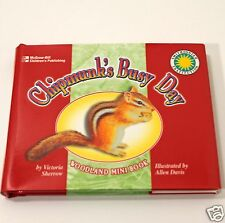 Chipmunk's Busy Day Woodland Collectible Mini Book Series