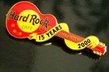 HRC hard rock cafe estocolmo 15th Anniversary red les paul made by FC Parry le