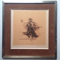 Claude Weisbuch (1927-2014) Original Lithograph Signed and Numbered The Painter