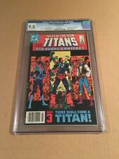 Tales of The Teen Titans #44 CGC 9.8 WP 1st App. Of Nightwing Newsstands Edition