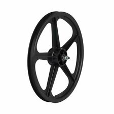 Skyway Tuff Wheels II 5 Spoke Composite 20 X 1.75 FW Mag Wheel Set BMX (black)