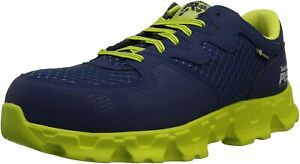Timberland  PRO Powertrain Alloy Toe EH Mens  Work Navy Green Shoes Sneakers