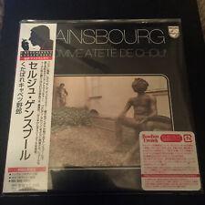 Serge Gainsbourg - L'Homme A Tete De Chou Mini Lp cd Japan Japanese Cardboard
