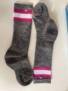 """New Smartwool """"Kid's Wintersport Tube Sock"""" Girls Winter Sledding Ski Socks"""