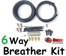 BOSS 6-Way Diff Breather Kit Toyota Hilux GUN126 GUN126R GUN125R GUN136R GUN136