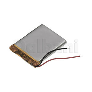554070, Internal Lithium Polymer Battery 3.7V 55x40x70mm