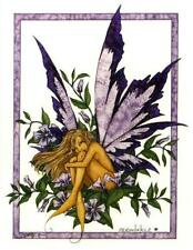 Amy Brown Periwinkle Fairy Collectible Postcard Art Print *Mint