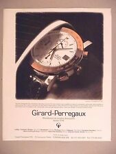 Girard-Perregaux Watch PRINT AD - 1991 ~ wristwatch