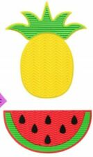 New PINEAPPLE & WATERMELLON Silicone Makeup Brush Cleaner Pad w/ Suction Cups