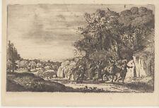 Gravure Le Lorrain, Claude Gellée, Amand-Durand, Engraving Incisione Radierung