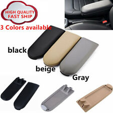 Leather Center Console Armrest Cover Lid For VW Jetta Golf MK4 Beetle PASSAT B5