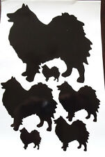 German spitz vinyl stickers, decals, for car, window