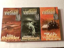 Battlefield Vietnam 3 VHS Video Tapes Time Life  Vietnam War