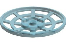 Lego Radar Dish Webbed Trans Light Blue 6x6 City Airport Technic Star Wars Space
