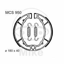 YAMAHA XV 500 750 SE VIRAGO Fonderie Lucas Mâchoires brakeshoe Arrière m Fed mcs950