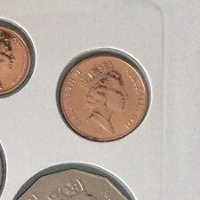 1991 2 cent Specimen coin UNC Ex Mint Set