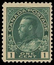 "Canada 104viii - King George V ""Admiral w Hairlines"" (pf36832)"