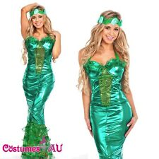 Sexy Lady Mermaid Outift Sea Princess Fancy Dress Halloween Party Costume