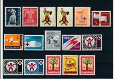 D097751 Yugoslavia Red Cross Nice selection of MNH stamps