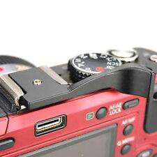 DSLRKIT Thumb Up Grip Black for Fujifilm X100 X100S X-E1 X20 X-pro1 Pentax Q Q10