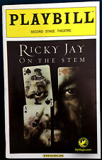Original Ricky Jay On The Stem Playbill
