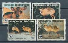 538739) Elfenbeinküste Nr.881-4** WWF Zebraducker