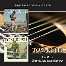 Tom Rush - Tom Rush / Take a Little Walk with Me [New CD] UK - Import