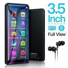 New MYMAHDI 8GB MP3 Full Touch Screen Player Music Player FM Radio Support 128GB