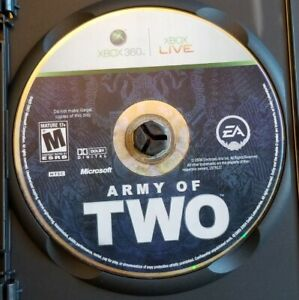 ARMY OF TWO (XBOX 360) DISC ONLY - Tested