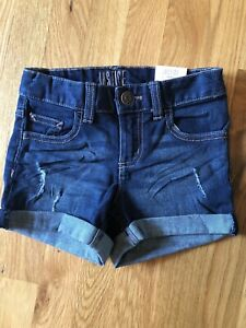 NWT Justice for Girls soft & Stretchy Jean Shorts size 10slim,  New w/ tags