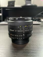 Nikon AF NIKKOR 50mm f/1.8D Lens Great Condition Flawless Glass! Free UV Filter