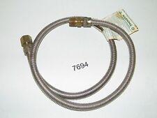 """Dormont Gas Range Furnace Stove Appliance Connector 1/2"""" MIP x 1/2"""" FIP x 48"""""""