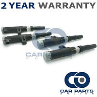 4X FOR RENAULT SCENIC MK2 1.6 PETROL 2003-09 IGNITION COIL PACKS PACK PENCIL SET