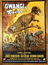 Gwangis Rache (Filmplakat '69) - James Franciscus / Horror / Dinosaurier