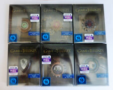 Game Of Thrones Staffel 1 - 6*Blu Ray*Steelbook*Limited German Edition*NEU