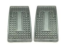 Pair of New Brake & Clutch Pedal Pads Triumph TR3 TR4 TR6 Spitfire GT6 Letter T